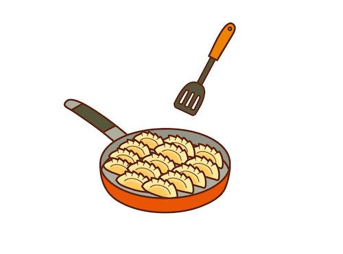 冷凍餃子の焼き方コレ超簡単!凍ったままでOK!餃子イチローの焼き方レシピ!